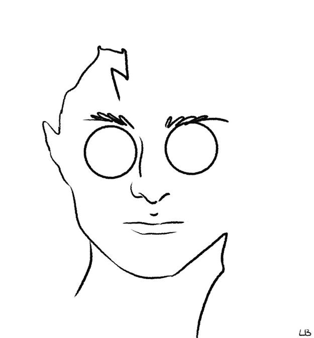 Drawing Easy Harry Potter Harry Potter Characters as Minimalist Drawings Harry Potter