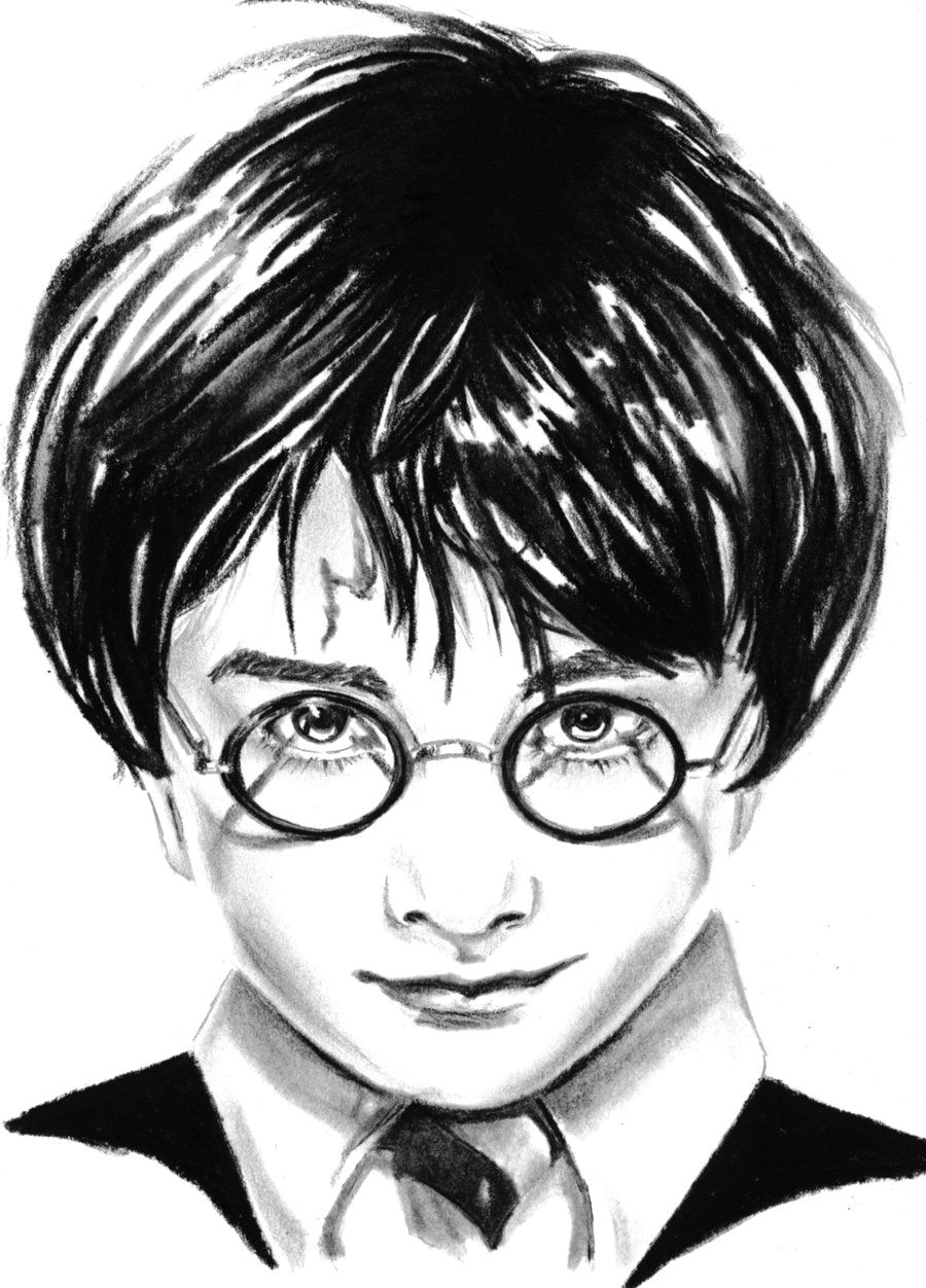 images for harry potter drawings easy