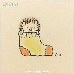 a aa a a a a a ae e hedgehog drawing