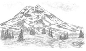 simple nature drawings bing images