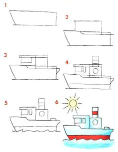 aprendiendo a dibujar medios de transportes easy drawingsdoodle