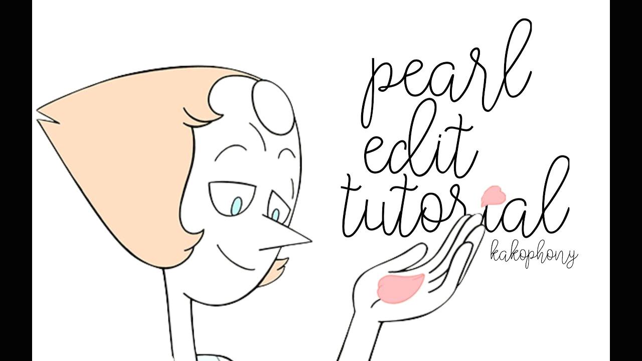 pearl edit tutorial steven universe