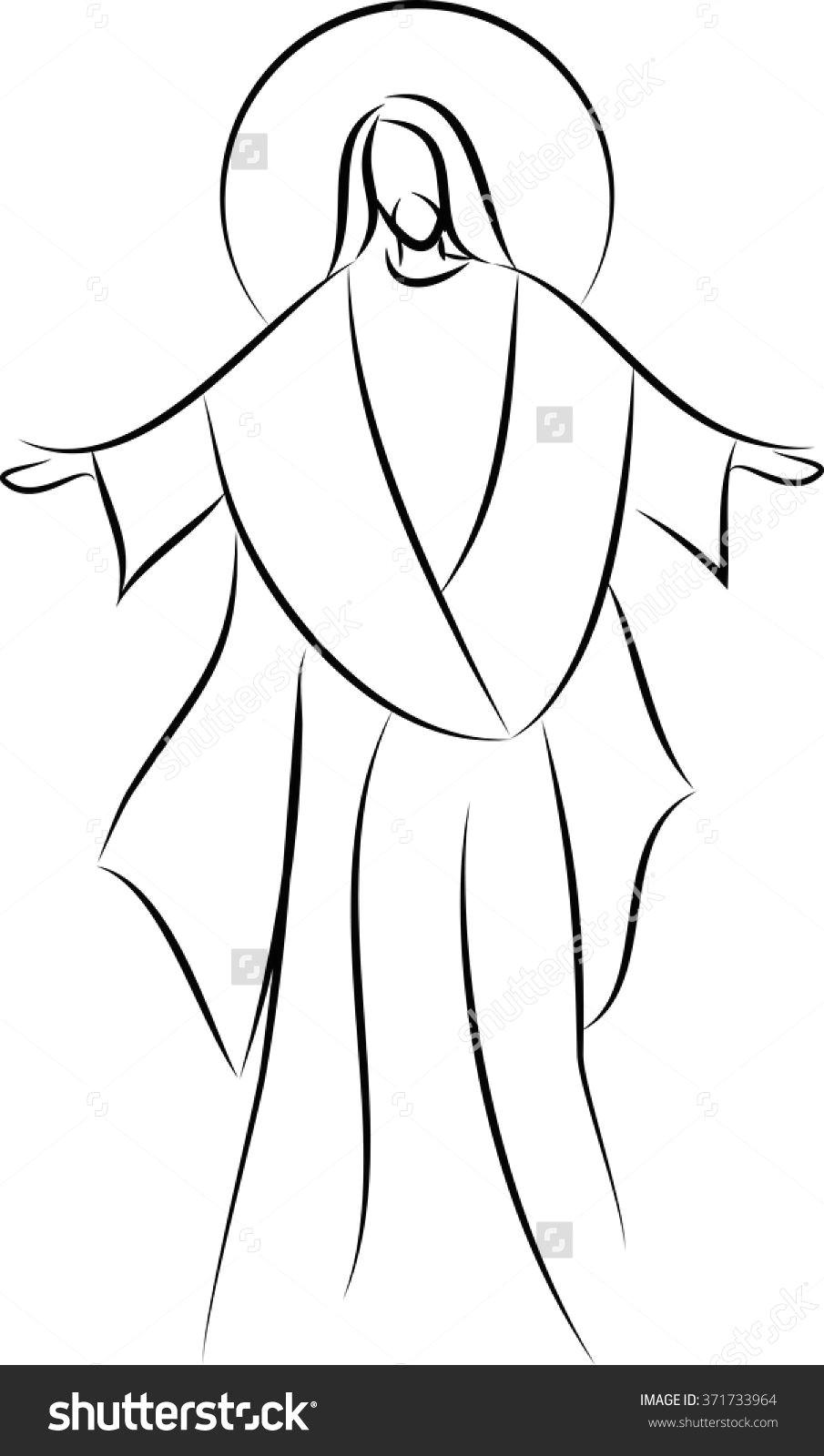 Drawing Easy Stitch Pin Od Zofia Morua Na Wzory Do Techniki Pergaminowej Christ Jesus