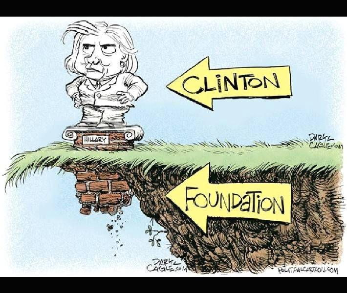 editorial cartoon crumbling foundation washington examiner