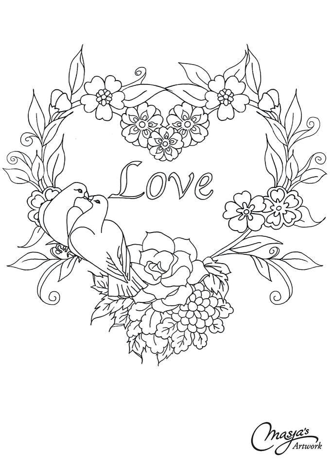 masja valentijn clipart embroidery hearts ribbon embroidery parchment craft hand drawn