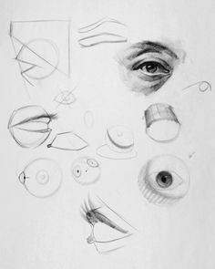 how to draw eyes structure