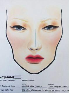 shadow face mac face charts makeup face charts makeup forever mac makeup beauty makeup makeup artistry makeup application makeup inspo