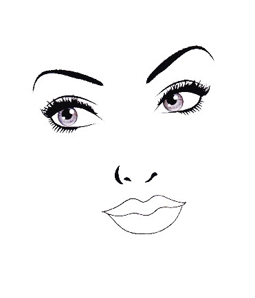 be beautiful by lolie 20 face charts blank 20 portraits vierges facepaintingbusiness