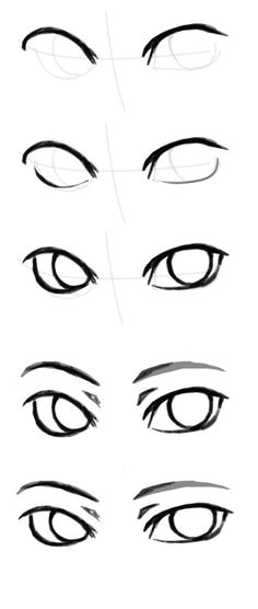 sirblizzard how to draw the other eye because people keep complaining the answer you don t draw a whole eye first you do it part by part