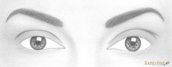 grab a blending stump and carefully blend everything but the rectangle reflection if you don t want to use a blending stump use an h pencil to shade