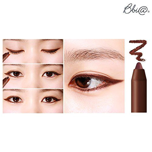 bbia last auto gel eyeliner 0 5g r2 rose brown it can draw eye line vivid clear color in just one touch this brush is for gel typed eye liner