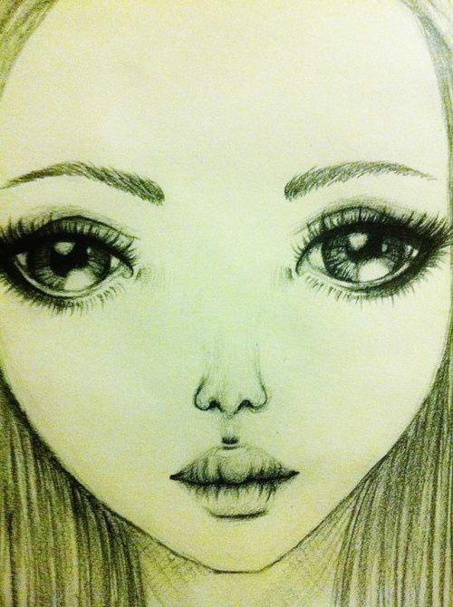 how to draw eyelashes pretty woman pretty