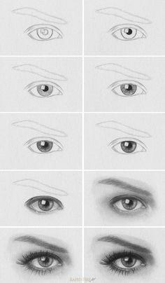 tutorial how to draw realistic eyes http rapidfireart com 2013