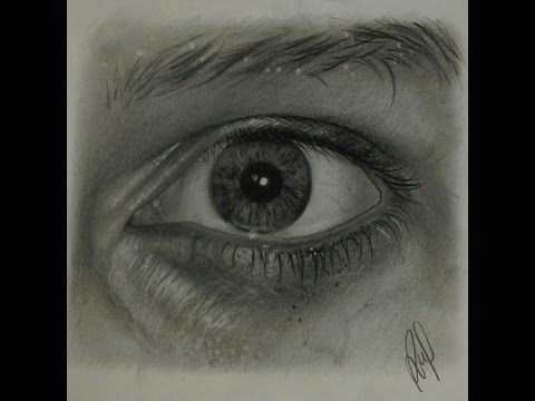 Drawing Eyes In Charcoal How to Draw Realistic Wrinkles and Pores Graphite Drawing
