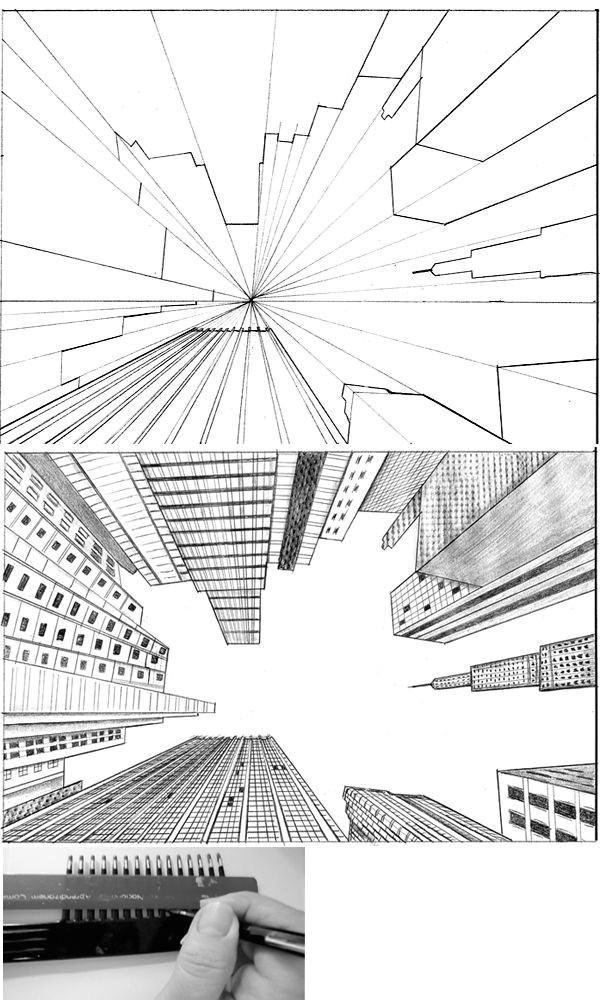 tutorial city in perspective 2 by lamorghana on deviantart love looking up something different then the aerial view