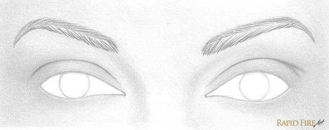 angle your strokes downward and use lighter strokes near the end of each eyebrow make sure your strokes taper at the ends