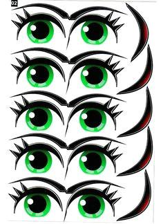 photo eye stickersballoon