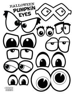 pumpkin eyes and mouths this would make a fun singing time have a few