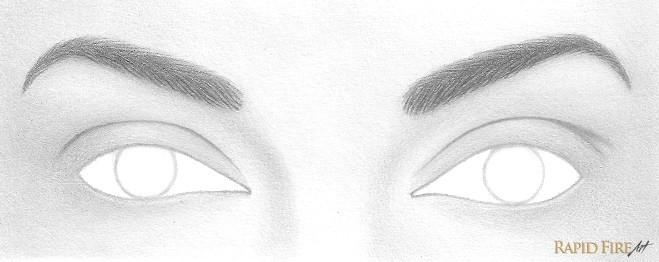 lastly add a light shadow by shading the area using an hb pencil