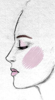 rock your inner style drawing women faceside face drawingface profile