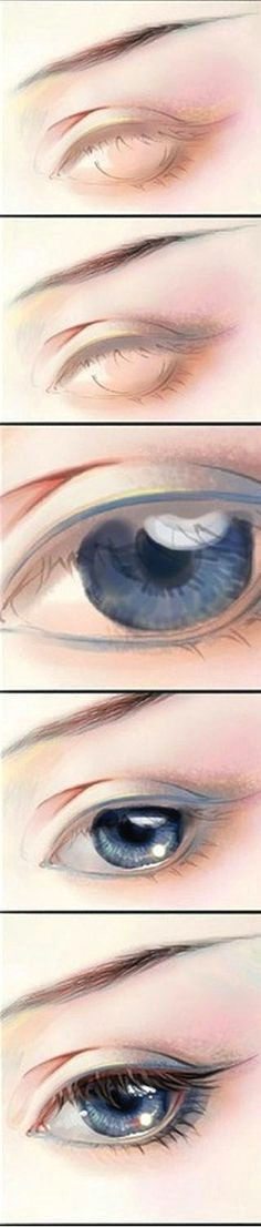 eye pencil sketch