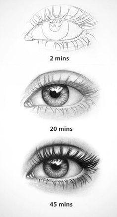 20 amazing eye drawing ideas inspiration