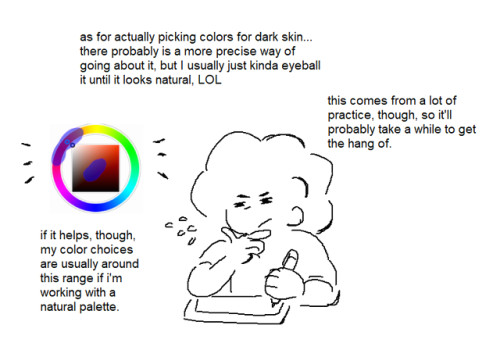 i get asked a lot for tips with coloring black people so i put together a little tutorial and bumps my kofi if you found this helpful