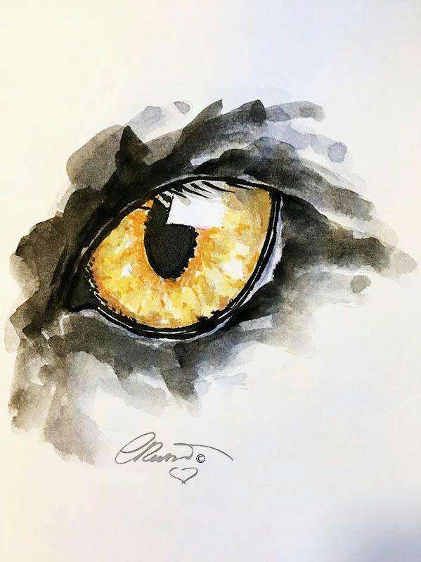 art inspiring magic watercolorarts eye art pretty art watercolor paintings painting