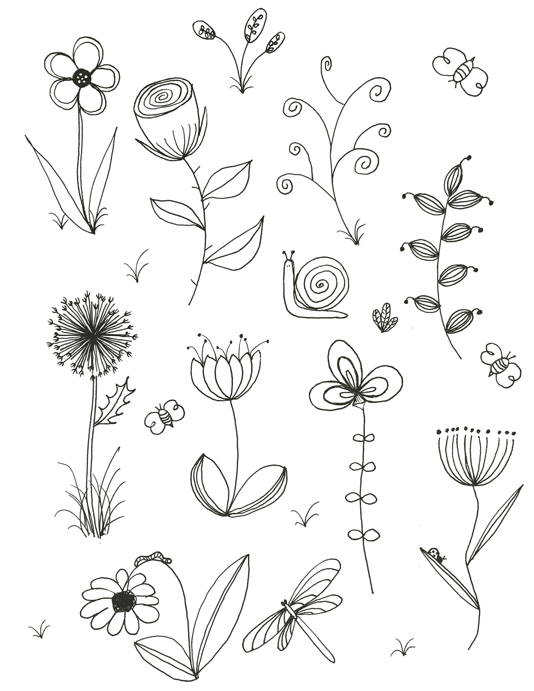 Drawing Flowers Doodling How to Do Doodle Art Fresh Easy Flowers to Draw Doodle Art Hd