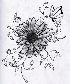 drawing flowers 3d drawing flower tattoo drawings drawing flowers flower sketches cool