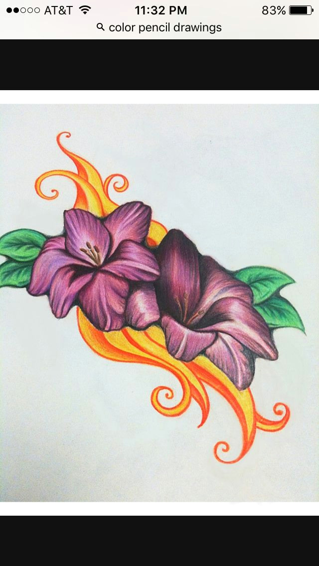 022e0db41850dce0a9cf4803bc9bf8d2 pencil sketches of flowers color pencil sketch jpg