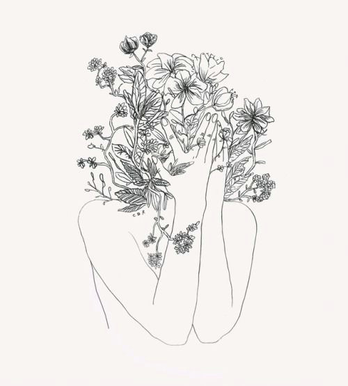 1000drawings by claudia deneault face line drawing flower art drawing vine drawing