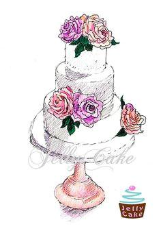 cake rough draft drawing google search