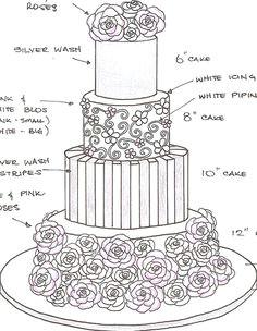 cake sketch cake business wedding cake designs wedding cakes wedding cake inspiration