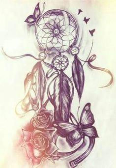 resultado de imagem para tattoos masculinas corujas com apanhador de sonhos dreamcatcher tattoo thigh butterfly