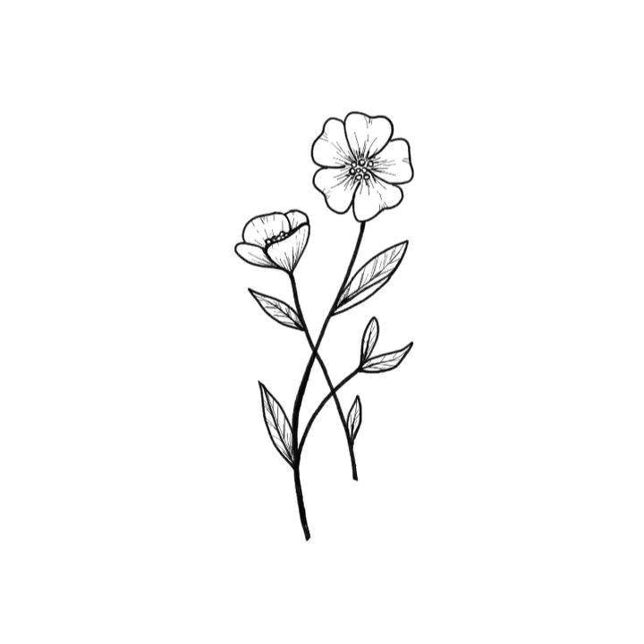 25 beautiful flower drawing ideas inspiration brighter craft