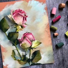 tripppppy soft pastel art pastel drawing soft pastels pastel artwork chalk