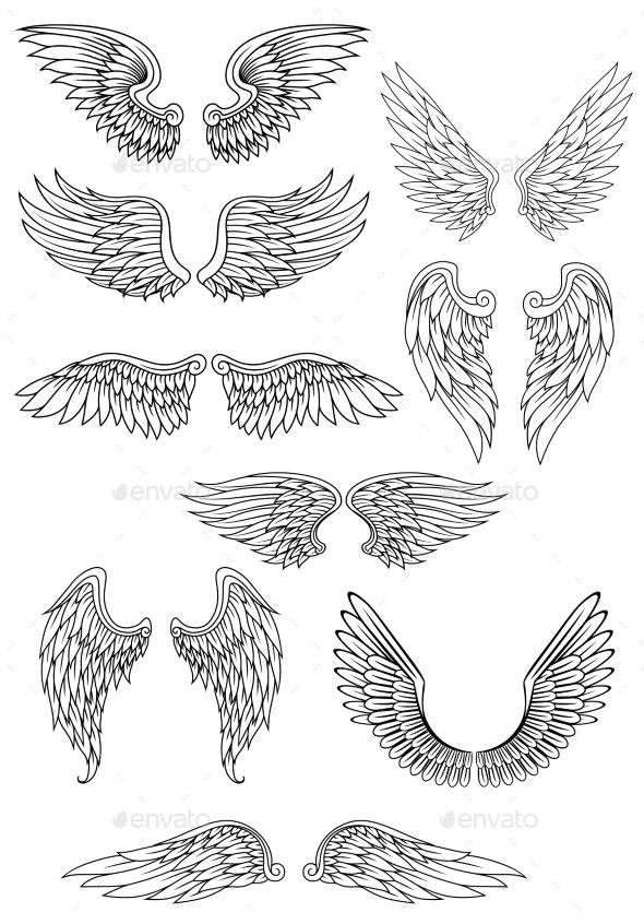 Drawing Flying Heart Pin by Hisho I I On E E E µe Tattoos Tattoo Designs Religious