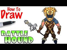 how to draw the battle hound fortnite