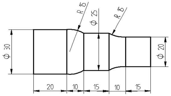cnc lathe program exercise for beginners g71 turning cycle