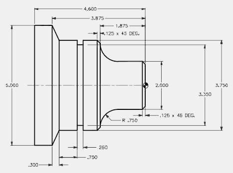 cnc lathe program example