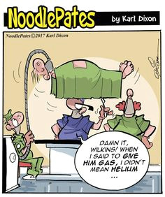 back to the noodlepates general hospital for today s cartoon on another point i have filmed myself drawing the whole of this cartoon and should be putting