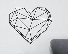 ours geometriques murales autocollant stickers par livingwall plus geometric animal geometric wall geometric shapes