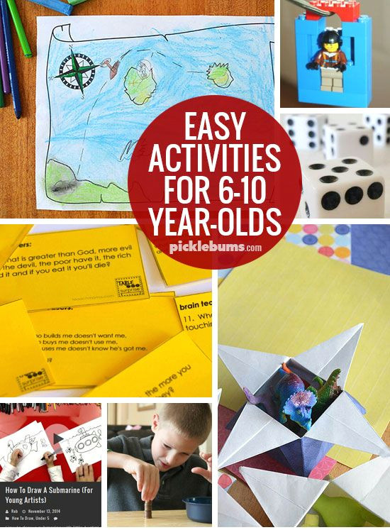easy activities for 6 10 year olds keep those kids busy with simple low pre low mess ideas