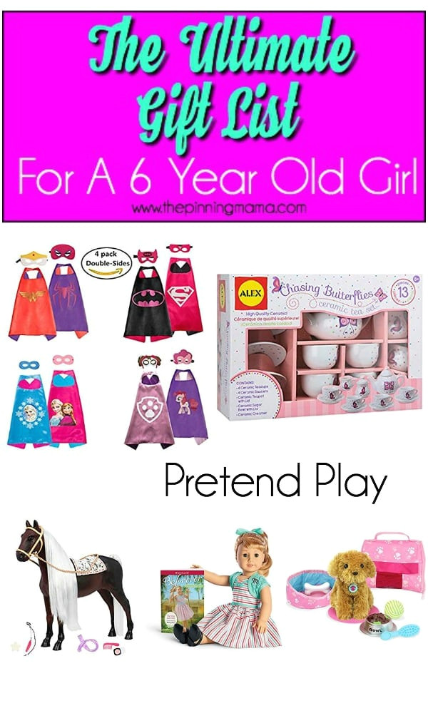 best gift ideas for a 6 year old girl