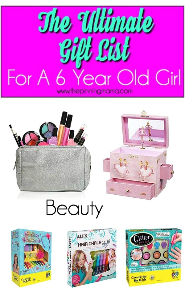 ultimate list of beauty products for a 6 year old girl