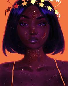 Drawing Girl 2048×1152 P I N T E R E S T A Shammahx3 Art Goals Art Black Women Art