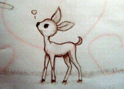 baby deer drawing google search zodius art pinterest deer