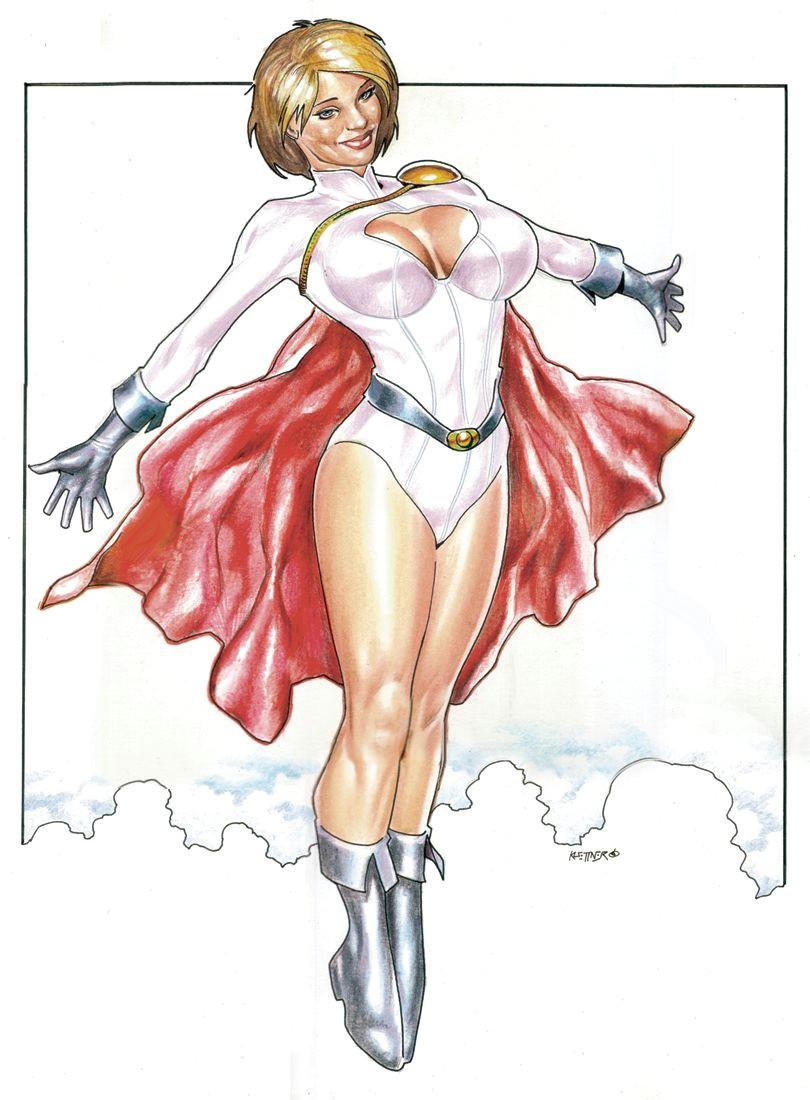 power girl by reverie drawingly deviantart com on deviantart