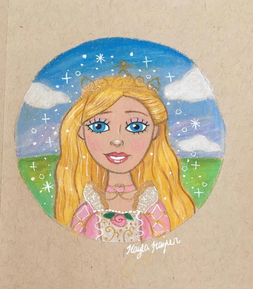 barbie annelise drawing by kayla frazier barbie barbiefanart barbieart princess prismacolor prismacoloredpencils drawing art fanart girl